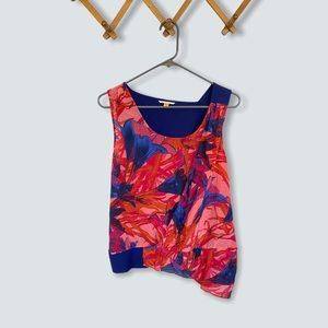 🍋LEIFSDOTTIR Anthropologie Silk Blend Tank Blouse